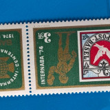 UNGARIA -EXPO.-FILAT. serie completa-nestamp-mnh - Timbre straine, Stampilat