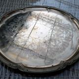 TAVA FRUMOASA, ALAMA AURITA, GRAVATA. - Metal/Fonta