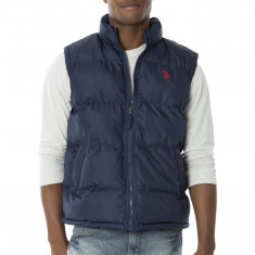 Vesta US POLO ASSN Puffer - Veste Barbati - 100% AUTENTIC - Vesta barbati US Polo Assn, Marime: M, Culoare: Din imagine, Poliester