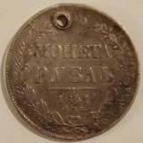 Imperiul Rus - 1 Rouble 1841 - Argint