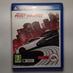 Joc Need For Speed Most Wanted pentru PlayStation Vita - Jocuri PS2 Ea Games