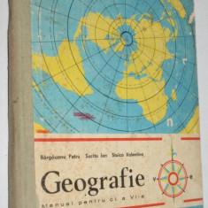Geografie -manual pentru clasele VII-a, 1985 - Manual scolar, Clasa 6, Alte materii