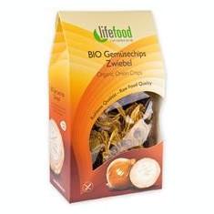 Chips din Ceapa Raw Bio Lifefood 60gr Cod: 8594071481582 - Snack