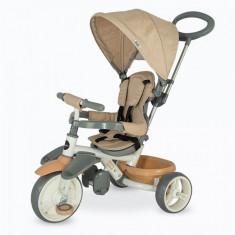Tricicleta Coccolle Evo, bej - Tricicleta copii DHS
