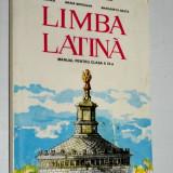 Limba Latina -manual pentru clasa a IX - a 1997 - Manual scolar, Clasa 9, Alte materii