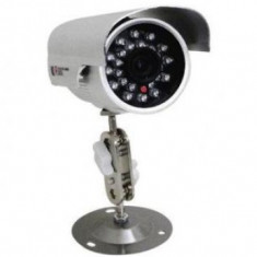 Camera de supraveghere video pentru exterior cu infrarosu si inregistrare pe microSD - Gadget supraveghere