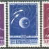1962 Romania, LP 547- Primul zbor in grup-Vostok 3 si 4-MH - Timbre Romania, Nestampilat