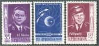 1962 Romania , LP 547- Primul zbor in grup-Vostok 3 si 4-MH foto mare