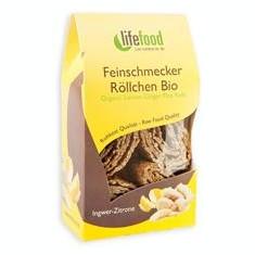 Rulouri Crispy cu Lamaie si Ghimbir Raw Bio Lifefood 80gr Cod: 8594071480271 - Snack