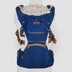Port Bebe ergonomic Coccolle Cara - Albastru inchis - Ham bebelusi