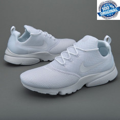 UNICAT ! ORIGINALI 100 % ! Nu replica ! Nike Air PRESTO FLY DOUBLE WHITE nr 44 - Adidasi barbati, Culoare: Din imagine