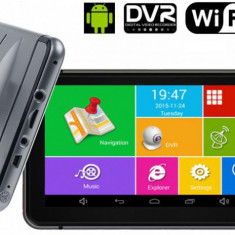 GPS cu Android, Camera Video si WIFI DVR AL-100417-1 - Camera video auto