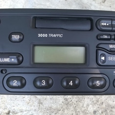 Radio casetofon casetafon original FORD 3000 traffic transit, escort, fiesta ETC - CD Player MP3 auto