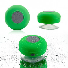 Boxa waterproof cu Bluetooth, microfon si ventuza de prindere - Boxa portabila