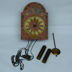 Ceas lemn GERMAN TRADITIONAL pendul greutati - Pendula