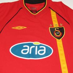 Tricou fotbal - GALATASARAY ISTANBUL - Tricou echipa fotbal, Marime: M, Culoare: Din imagine, De club, Maneca scurta