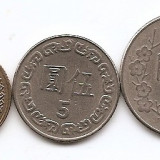 Taiwan Set 3 - 1, 5, 10, Yuan ~ RR1, Asia