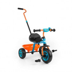 Tricicleta copii Milly Mally Turbo Blue Orange