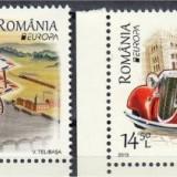 2013 Romania, LP 1979-Vehicule postale- MNH - Timbre Romania, Nestampilat
