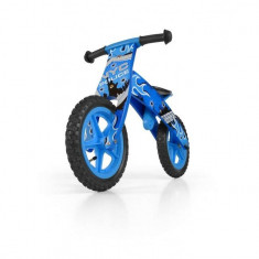 Bicicleta fara pedale Flip Blue - Bicicleta copii