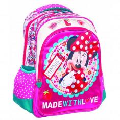Ghiozdan scoala Minnie Mouse