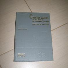 GEOMETRIE ANALITICA SI ELEMENTE DE ALGEBRA LINIARA PROBLEME I. D. TEODORESCU - Culegere Matematica