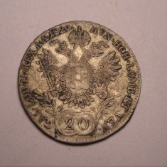 20 Kreuzer 1829, Europa
