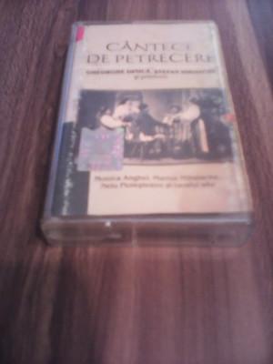 Caseta Audio Gheorghe Dinicastefan Iordache Cantece De Petrecere