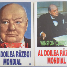 AL DOILEA RAZBOI MONDIAL de WINSTON CHURCHILL, VOL I-II 1996 - Istorie