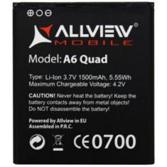 Acumulator Allview A6 Quad  produs nou original, Alt model telefon Allview, Li-ion