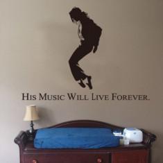 Sticker perete Michael Jackson