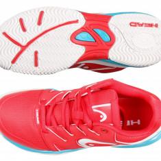 Head Nzzzo Junior 2017 pantofi tenis junior rosu UK 13K - Adidasi pentru Tenis