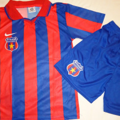 ECHIPAMENTE FOTBAL COPII STEAUA, DE LA 7 LA 9 ANI - Set echipament fotbal, Marime: S