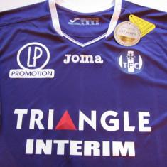 Tricou fotbal - FC TOULOUSE (Franta) - Tricou echipa fotbal, Marime: XL, Culoare: Din imagine, De club, Maneca scurta