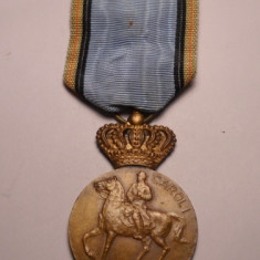 Medalia Centenarul Regelui Carol I 1839 1939 Superba