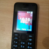 Nokia Dual sim Nokia 130 - Telefon Nokia, Negru, Nu se aplica, Neblocat, Fara procesor