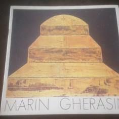 MARIN GHERASIM, DRUMUL. PICTURA 1973-1986 CATALOG EXPOZITIE SALILE DALLES 1986 - Album Pictura