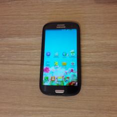 Samsung S3 - Telefon mobil Samsung Galaxy S3, Albastru, 16GB, Neblocat, Dual core, 1 GB