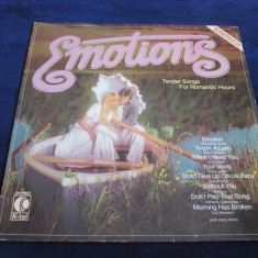 Various - Emotions _ vinyl, LP, compilatie _ K-tel (Germania) - Muzica Pop Altele, VINIL