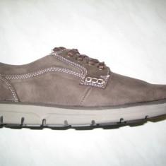 Pantofi piele barbati WINK;cod LL6165-1;marime:43-46 - Pantofi barbat Wink, Marime: 44, 45, Culoare: Maro, Piele intoarsa, Casual