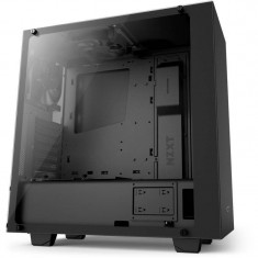 Carcasa NZXT S340 Elite Matte Black - Carcasa PC NZXT, Middle Tower