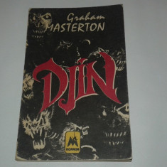 GRAHAM MASTERTON - DJIN - Carte Horror