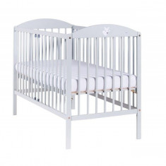 Patut bebelusi 120 x 60 cm Lisek Light Grey - Patut pliant bebelusi