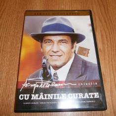 Filmul Cu mainile curate-Sergiu Nicolaescu, dvd colectie!