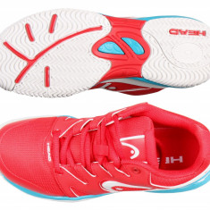 Head Nzzzo Junior 2017 pantofi tenis junior rosu UK 1 - Adidasi pentru Tenis