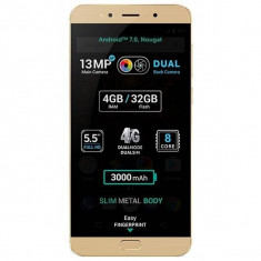 Smartphone Allview X4 Soul Lite 32GB Dual Sim 4G Gold - Telefon Allview