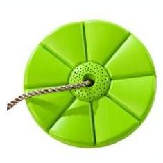 Leagan rotund din plastic - Monkey - Lime Green - Tobogan copii Kbt