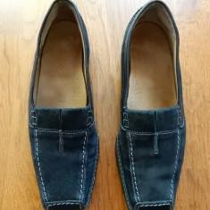 Pantofi Gabor Comfort, talpa Latex, piele naturala; marime 38 (24.5 cm talpic) - Pantof dama, Culoare: Din imagine, Cu talpa joasa