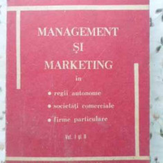 Management Si Marketing - Ovidiu Nicolescu, 401721 - Carte Marketing