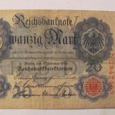 CY - 20 mark marci 1914 Germania